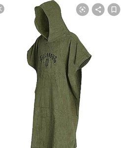 NWT Billabong Unisex Hooded Poncho/Towel OS